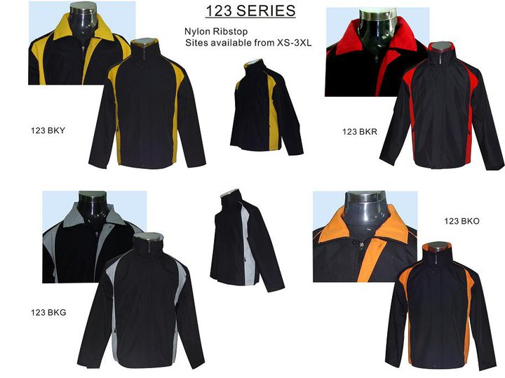 Jacket-Windbreaker-Series 123 : Print Spot, Personalised Tshirt ...
