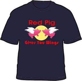 Red Pig Gives You Wings