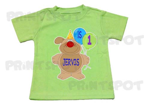 Party Dog Birthday Tee (PSBD017)