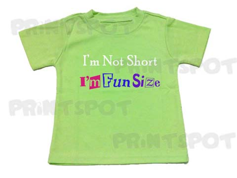I'm Not Short ; I'm Fun Size (PS080)