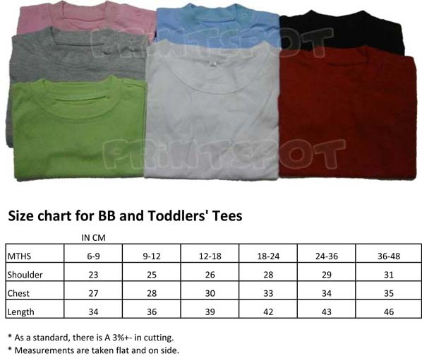 Baby/Toddler Tees