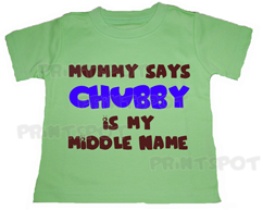 Chubby is my Middle Name (PS050)