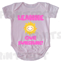 """Baby's name"" our sunshine - Design B (PS019)"