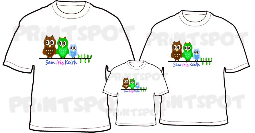 Owl Family Branch Design (PSFT042)