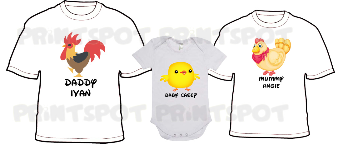 Chicky Family Tee Set! (PSFT073)