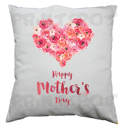 Flowery Heart Mother's Day Cushion!