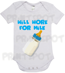 Will Work for Milk (PS018)